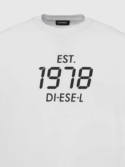 Diesel - T-DIEGOS-X42, Weiß - T-Shirts - Image 3