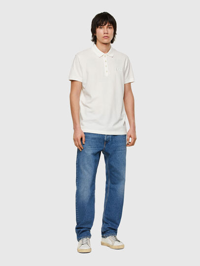Diesel - T-WEET-E1, Blanc - Polos - Image 4