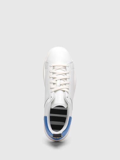 Diesel - S-CLEVER LOW LACE, Blanc/Bleu - Baskets - Image 5
