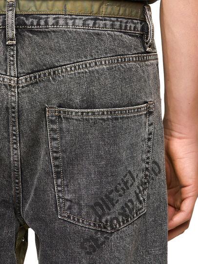 Diesel - DxD-P2 0CBBH, Schwarz/Dunkelgrau - Jeans - Image 3
