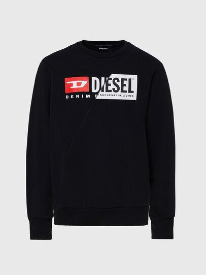 Diesel - S-GIRK-CUTY, Black - Sweaters - Image 1