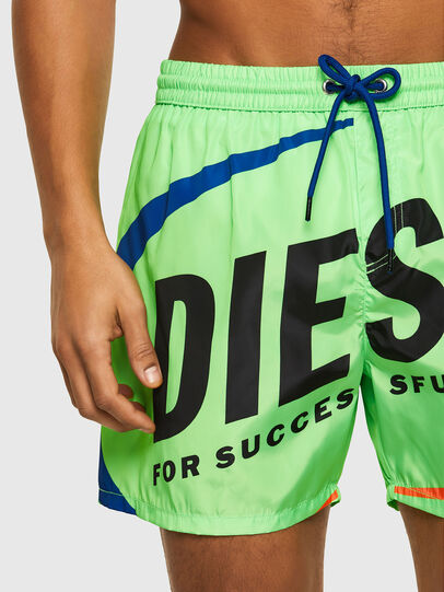 Diesel - BMBX-WAVE 2.017, Green - Swim shorts - Image 3