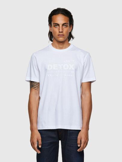 Diesel - T-JUST-B63, Blanc - T-Shirts - Image 1