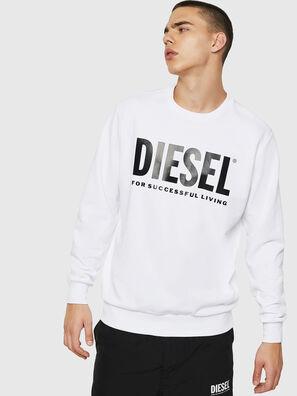 S-GIR-DIVISION-LOGO, Weiß - Sweatshirts