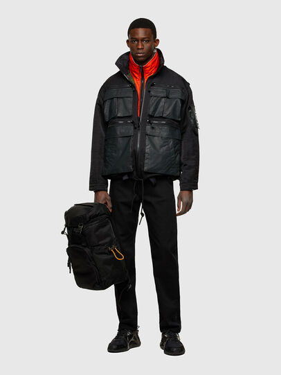 Diesel - ALPYN, Black - Backpacks - Image 6
