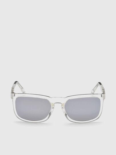Diesel - DL0262, Weiß - Sonnenbrille - Image 1
