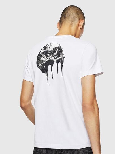 Diesel - T-DIEGO-J10, Weiß - T-Shirts - Image 2