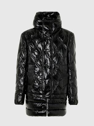 W-CRAWFORD-SHINY, Noir - Vestes d'hiver