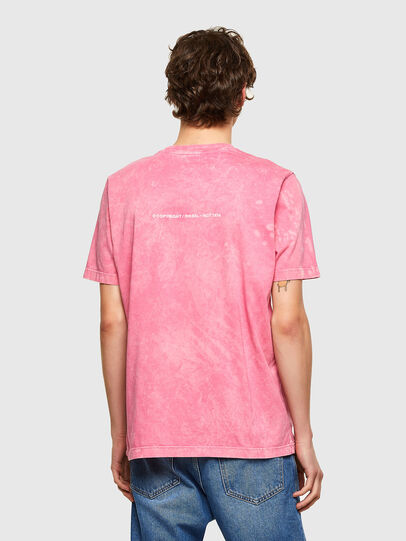 Diesel - T-JUST-E2, Rose - T-Shirts - Image 2