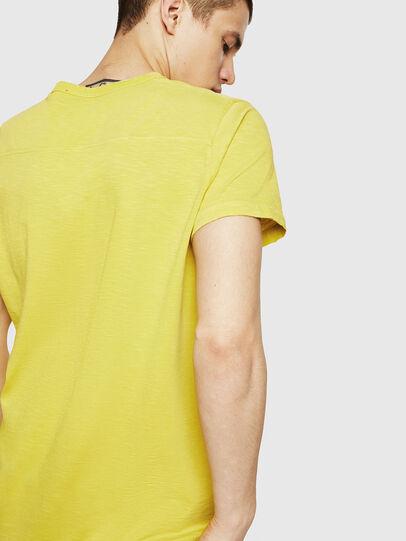 Diesel - T-DIEGO-CUT-A, Gelb - T-Shirts - Image 2