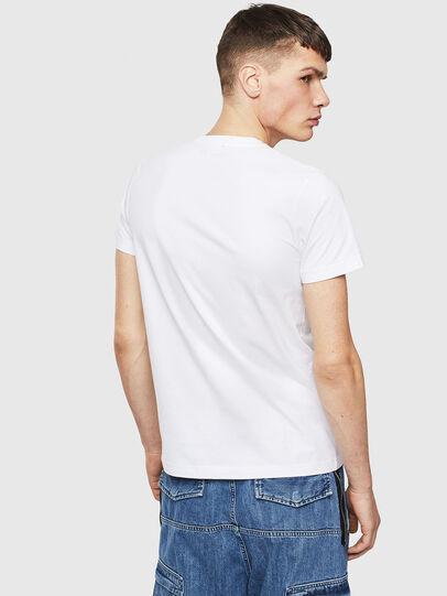 Diesel - T-WORKY-S1, Weiß - T-Shirts - Image 2