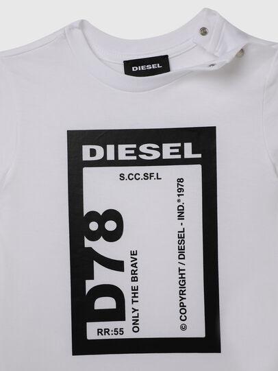 Diesel - TFULL78B, Blanc - T-shirts et Hauts - Image 3