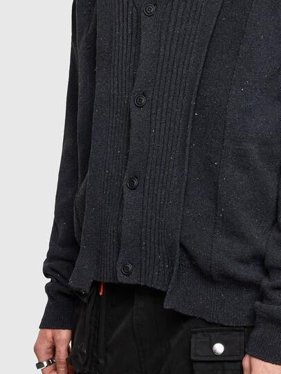 Diesel - K-MATRIX, Black - Knitwear - Image 5