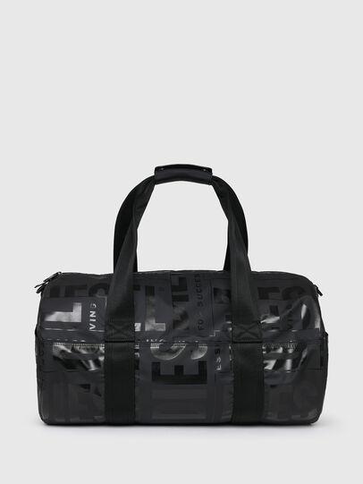 Diesel - X-BOLD DUFFLE, Black - Travel Bags - Image 2