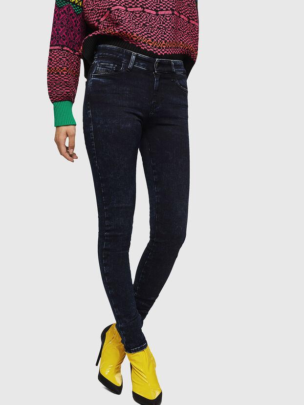 Slandy 082AU, Dunkelblau - Jeans