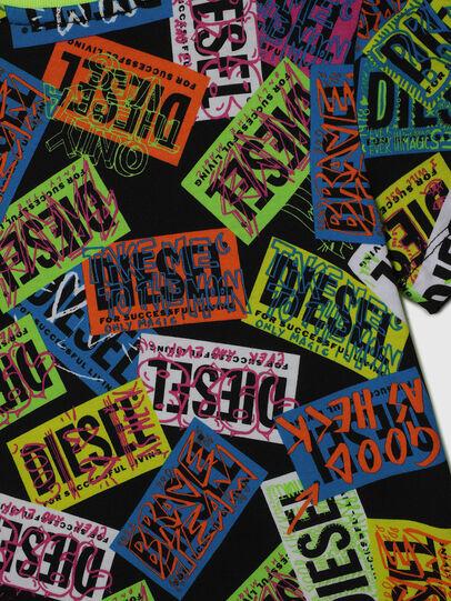 Diesel - TAIRB-R, Vert/Noir - T-shirts et Hauts - Image 4