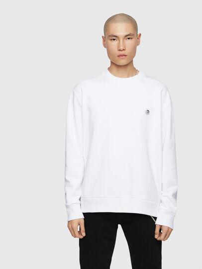Diesel - S-LINK, Weiß - Sweatshirts - Image 1