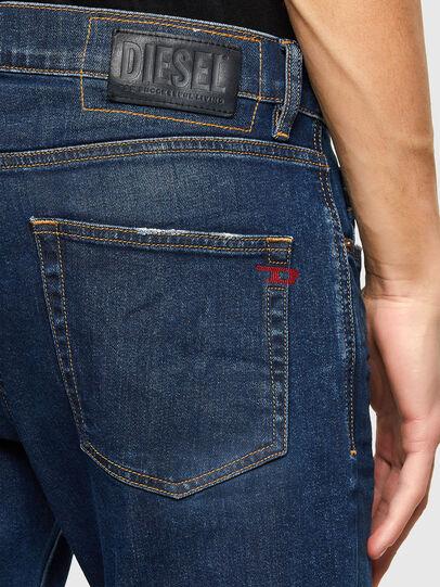 Diesel - D-Strukt 009NV, Bleu Foncé - Jeans - Image 4