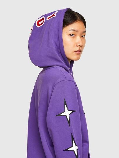 Diesel - CL-S-GIRK-HOOD-O1, Violet - Sweaters - Image 6