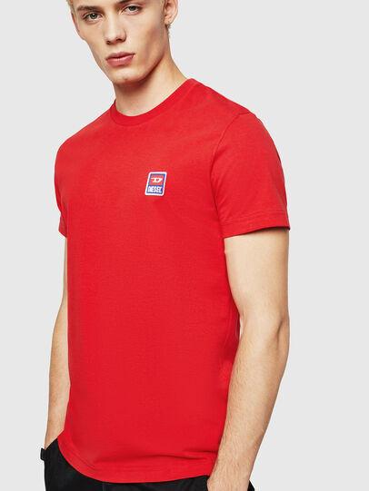 Diesel - T-DIEGO-DIV, Feuerrot - T-Shirts - Image 1