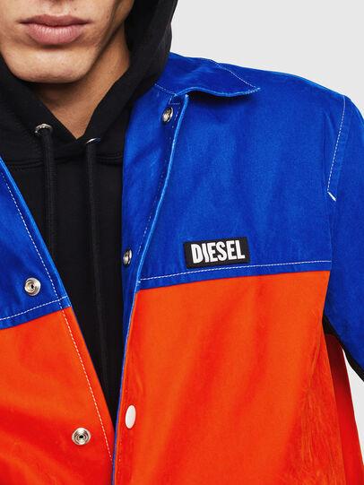 Diesel - J-BELL, Blau/Rot - Jacken - Image 3