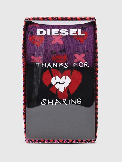 Diesel - SKM-HERMINE-THREEPAC, Schwarz/Violett - Strümpfe - Image 2