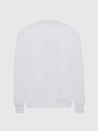 Diesel - S-GIRK-CUTY, Weiß - Sweatshirts - Image 2
