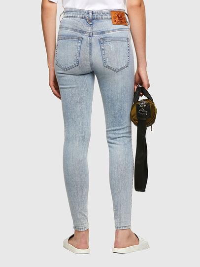Diesel - Slandy High 009TG, Blu Chiaro - Jeans - Image 2
