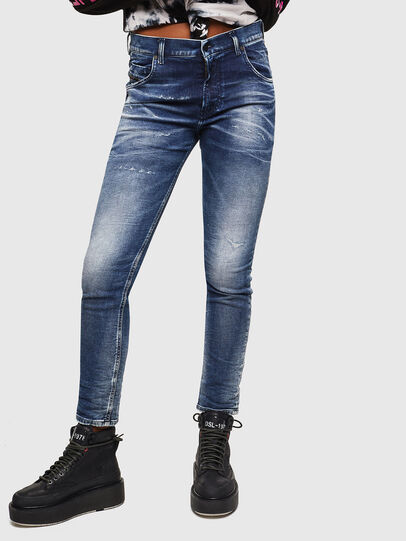 Diesel - Krailey JoggJeans 0096M, Dunkelblau - Jeans - Image 1