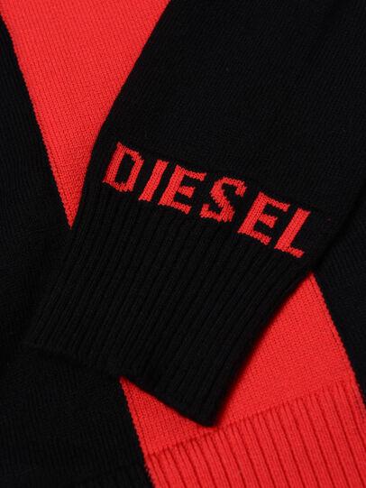 Diesel - KTAPEX, Schwarz/Rot - Strickwaren - Image 3