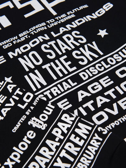 Diesel - TJUSTLSBX1 OVER, Schwarz - T-Shirts und Tops - Image 3