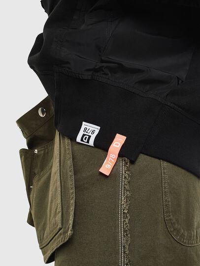 Diesel - F-ALLS, Schwarz - Sweatshirts - Image 3