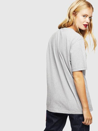 Diesel - CC-T-JUST-COLA, Grau - T-Shirts - Image 4