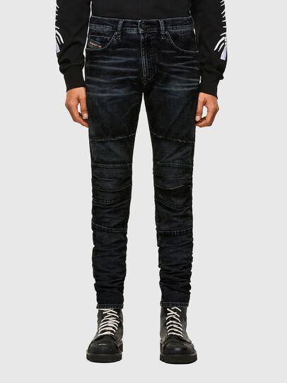 Diesel - D-Strukt JoggJeans® 069TG, Noir/Gris foncé - Jeans - Image 1