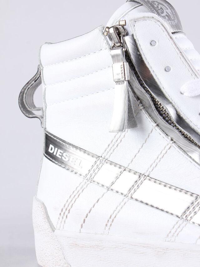 D-STRING PLUS W, Weiß/Silber
