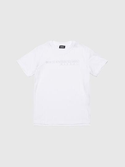 Diesel - TDIEGOSLITSJ6, Weiß - T-Shirts und Tops - Image 1