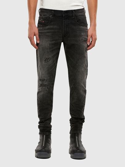 Diesel - D-Strukt 069RC, Noir/Gris foncé - Jeans - Image 1
