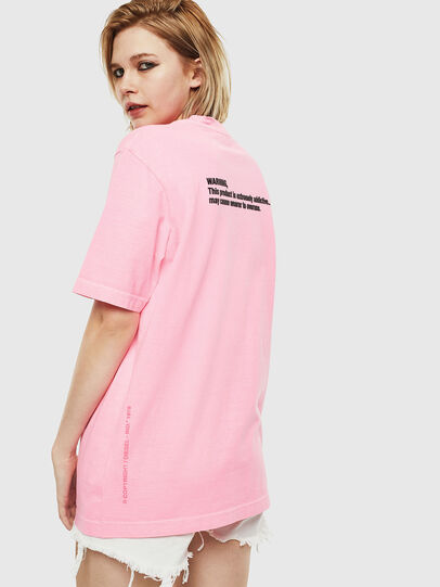 Diesel - T-JUST-NEON, Rosa - T-Shirts - Image 4