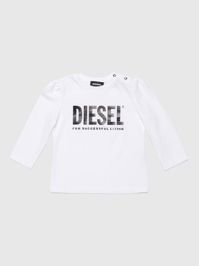 Diesel - TRASSYB, Weiß - T-Shirts und Tops - Image 1