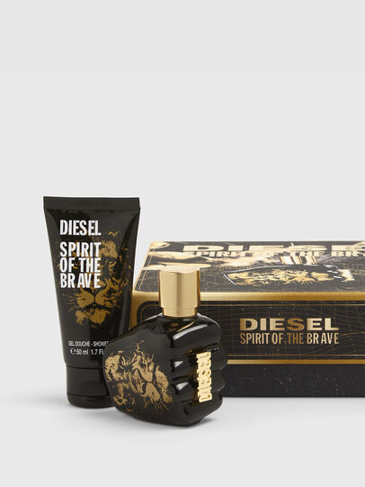 Diesel - SPIRIT OF THE BRAVE 35ML GIFT SET, Schwarz/Gold - Only The Brave - Image 1