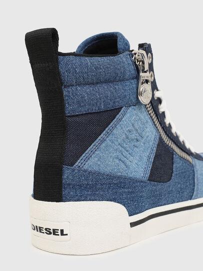 Diesel - S-DVELOWS MID CUT, Bleu - Baskets - Image 5