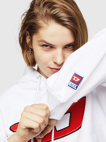 Diesel - F-DINIE-B, Weiß - Sweatshirts - Image 4