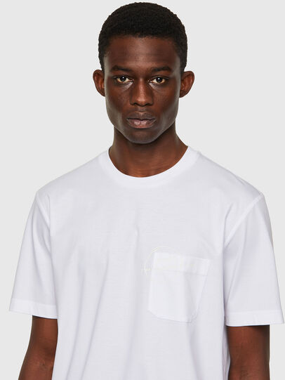 Diesel - T-JUST-WORKY, Blanc - T-Shirts - Image 3