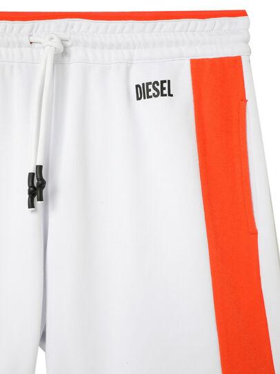 Diesel - UMLB-PAN-SP, Blanc/Orange - Pantalons - Image 3