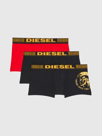 Diesel - UMBX-DAMIENTHREEPACK, Schwarz/Gold - Boxershorts - Image 1
