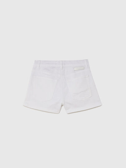 Diesel - PBOYSHORT JOGGJEANS, Blanc - Shorts - Image 2