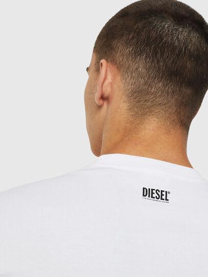 Diesel - T-DIEGO-B12, Weiß - T-Shirts - Image 4
