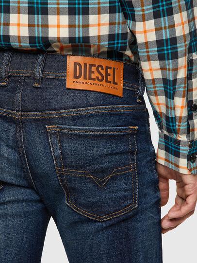 Diesel - Sleenker 09A43, Blu Scuro - Jeans - Image 4