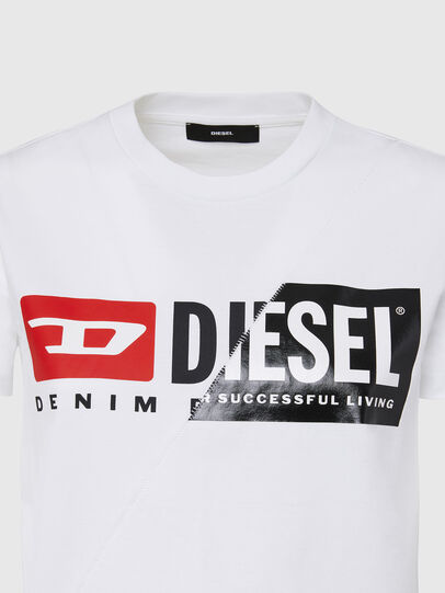 Diesel - T-SILY-CUTY, Blanc - T-Shirts - Image 3