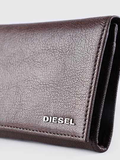 Diesel - 24 A DAY, Braun - Continental Portemonnaies - Image 3